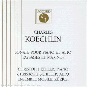 Koechlin - Musique de Chambre et Solos (Piano, flûte etc.) 41X3C4YD5ML._