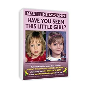 Madeleine McCann shopping bags and fine art prints - for sale on Amazon 41YqsK6rlLL._SL500_AA300_