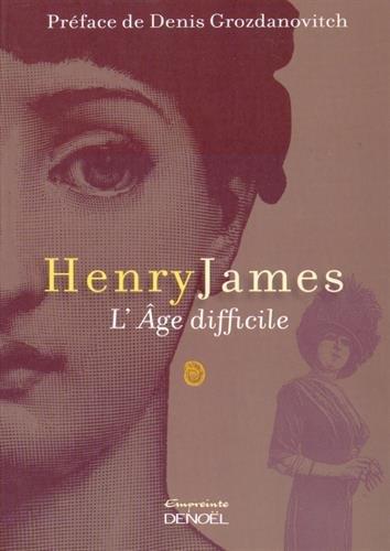 L'Age difficile de Henry James 41ZsC83AMPL