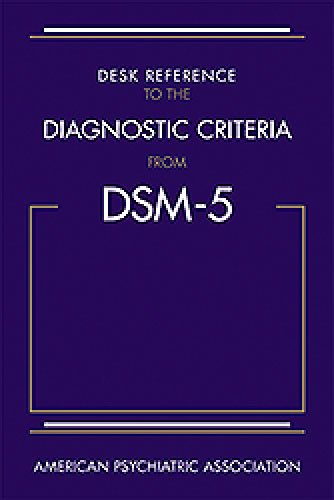 Desk Reference to the Diagnostic Criteria from DSM-5(TM) 41azPYGXdjL