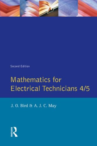 Mathematics for Electrical Technicians: Level 4-5 (Longman Technician)  41eRB6wOWmL