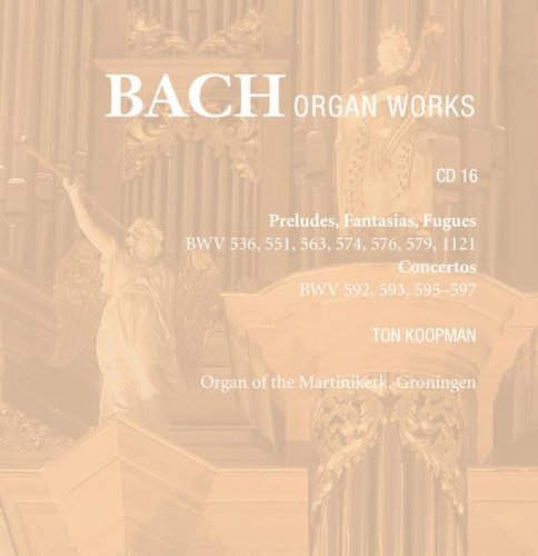Bach - Oeuvres pour orgue - Page 4 41f2KuZxLNL