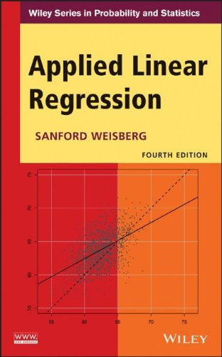 Applied Linear Regression (Wiley Series in Probability and Statistics)  41l5yH0W1RL