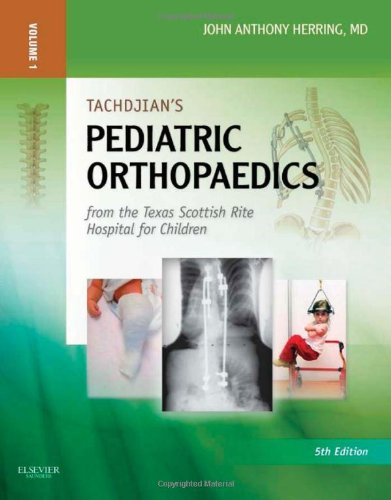 Tachdjian's Pediatric Orthopaedics: From the Texas Scottish Rite Hospital for Children: Expert Consult: Online and Print, 3- Volume Set  516aSfto4CL