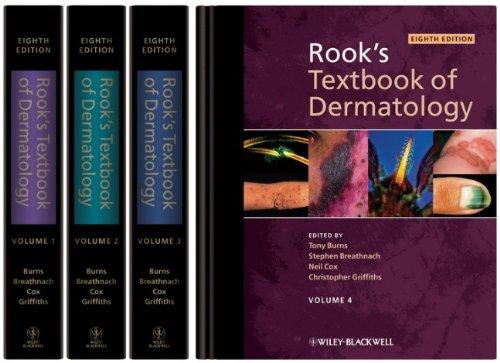 Rook's Textbook of Dermatology, 4 Volume Set  516zFbyagcL