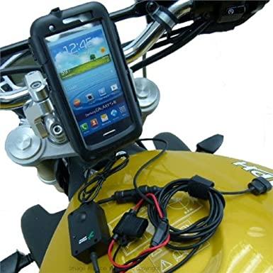 Installation support alimenté pour Smartphone et Kit oreillette Swiss Charger 517bV2aF5KL._SX385_