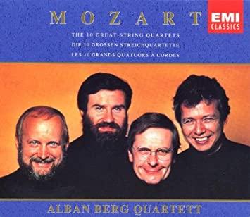 Mozart: quatuors à cordes dédiés à Haydn 51BWHDRbf3L._SX355_