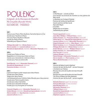 Poulenc - Sonate pour clarinette et piano (1962) 51DyOIMVkCL._SS400_