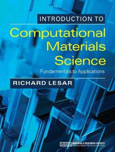 Introduction to Computational Materials Science: Fundamentals to Applications 51Eo00T213L