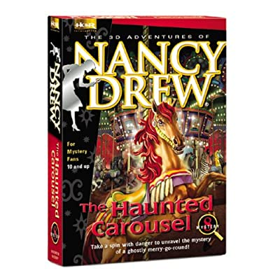 Nancy Drew 8: The Haunted Carousel 51F0B5NEVSL._SS400_