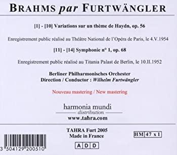 1 ère symphonie de Brahms (je suis pas original je sais) - Page 2 51FiqFRH60L._SX350_