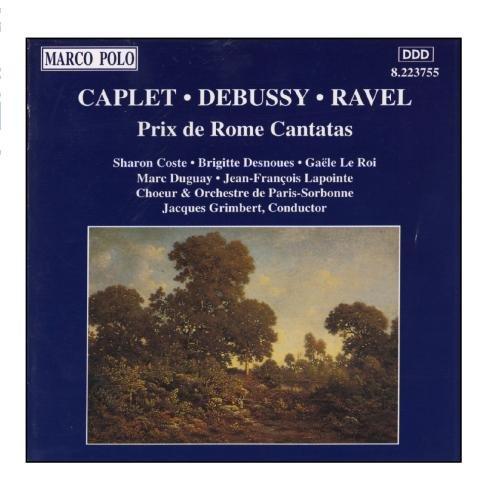 Ravel - Opéras et cantates - Page 2 51J381J7A8L