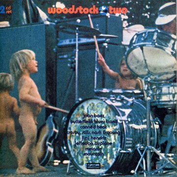 Woodstock Two (1971) 51JAc1C5ClL