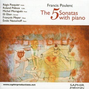 Poulenc - Sonate pour clarinette et piano (1962) 51N0Q9TZRML._