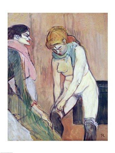 Mujer poniéndose una media. Henri de Toulouse-Lautrec 51OhOT9jCZL