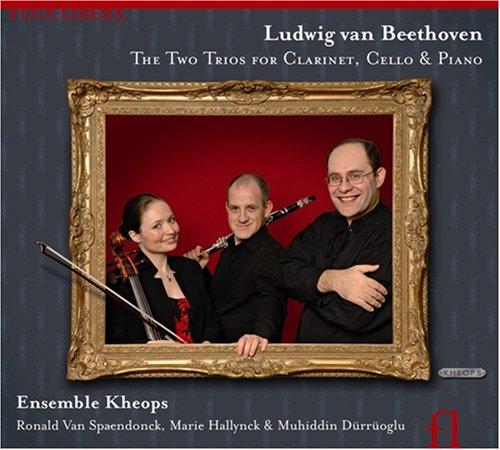 Beethoven - Trios avec clarinette - Ensemble Khéops 51QnureUsBL