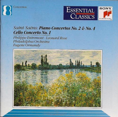 Saint-Saëns - Concertos pour piano  51RBrajNtkL