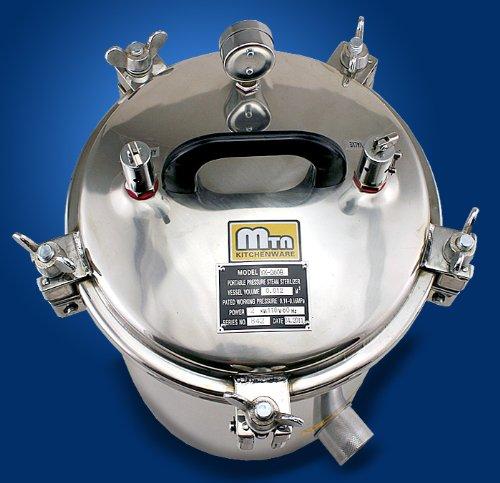 Portable 12L Autoclave High Pressure Steam Sterilizer (Besr Seller) 51WQlneGXtL
