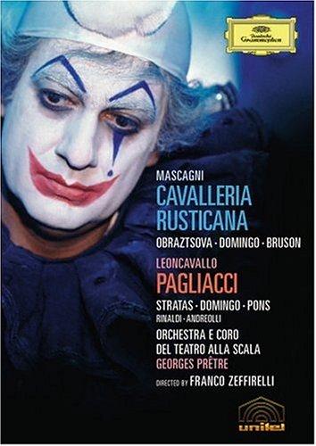 Mascagni : Cavalleria rusticana - Leoncavallo : Pagliacci 51Y6KAX9Z6L