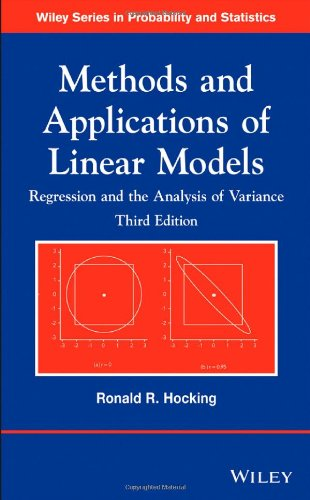 Methods and Applications of Linear Models: Regression and the Analysis of Variance (Wiley Series in Probability and Statistics) 51fMWgn5vcL
