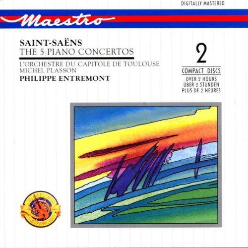 Saint-Saëns - Concertos pour piano  51gRmsBJ1BL