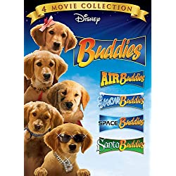 "[Disney] La Saga ""Air Bud"" (2 films + 12 suites vidéos de 1997 à 2012) - Page 2 51htP3ZcVxL._SCLZZZZZZZ_AA250_Buddies-DVD-4Pack-Air-Buddies-Snow-Buddies-Space-Buddies-Santa-Buddies"