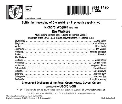 Wagner. La Walkyria, Solti en el Covent Garden 1961 51i0Oebyd5L