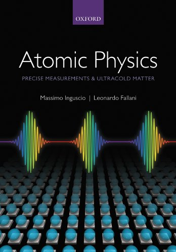 Atomic Physics: Precise Measurements and Ultracold Matter 51iAtpTj9rL
