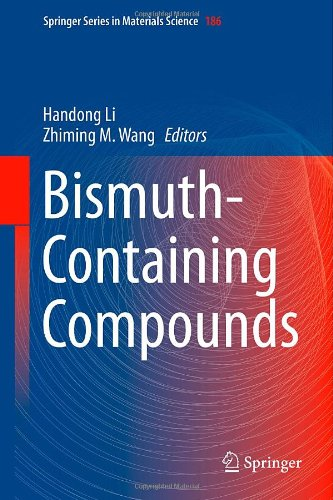 Bismuth-Containing Compounds (Springer Series in Materials Science) 51isrRSlmYL