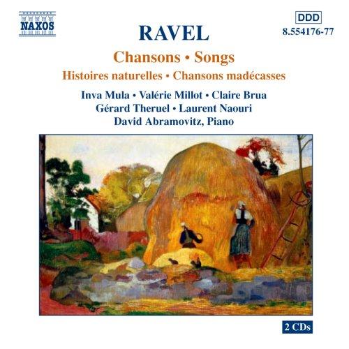 Ravel - Mélodies (Mallarmé, Madécasses) 51kVbbGGOcL._