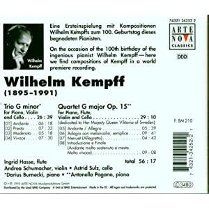 Wilhelm KEMPFF (1895 - 1991) 51ogatztoyL._AA300_