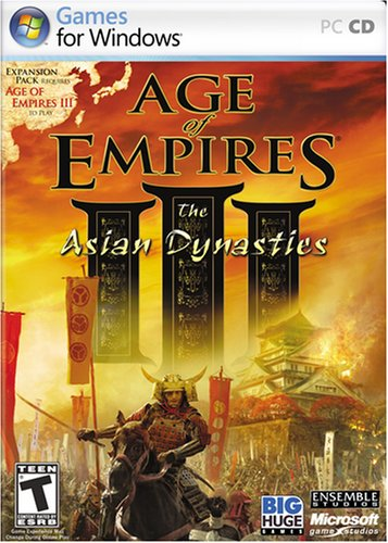 Age of Empires III : Age of Discovery (05) + 2 datadisky (The War Chiefs (06),The Asian Dynasties(07)) / CZ 51s6EA3gksL