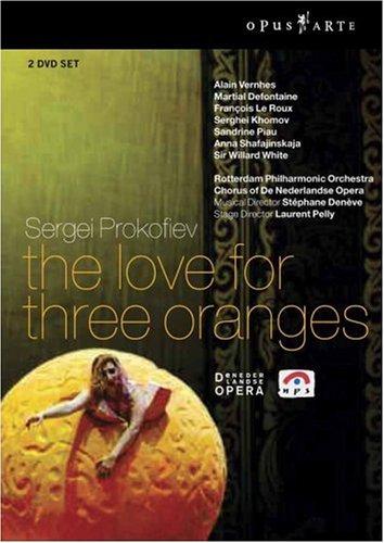 Prokofiev - L'Amour des trois oranges 51tsO2LEgjL