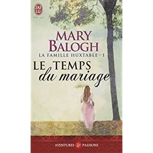 La famille Huxtable, tome 1 : Le temps du mariage de Mary Balogh 51vOS8T-vfL._SL500_AA300_