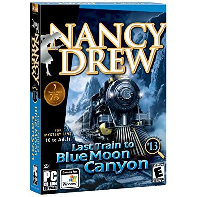Nancy Drew 13: Last Train to Blue Moon Canyon 6106WFV7V0L._SS400_