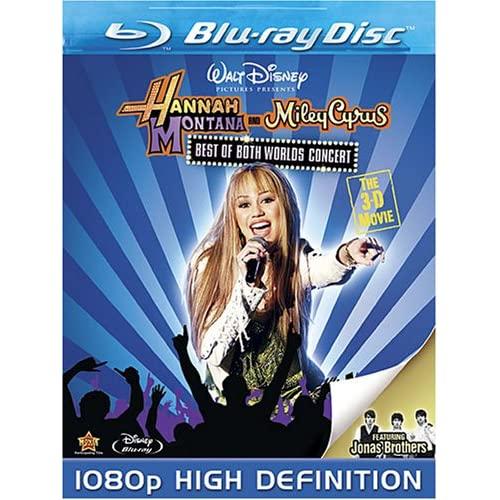 Hannah Montana et Miley Cyrus : Le Concert Événement en 3-D - En DVD et Blu-Ray (Sortie US 19 août 2008) 613rLgnYq2L._SS500_