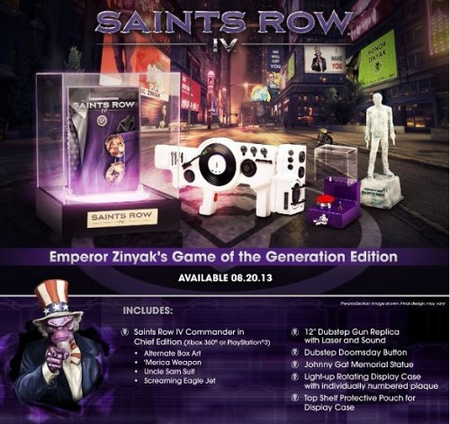 SAINT'S ROW IV collector 61Ci7S6uuHL