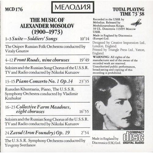 Alexander Mossolov (1900-1973) 61MsJ8AQ3yL