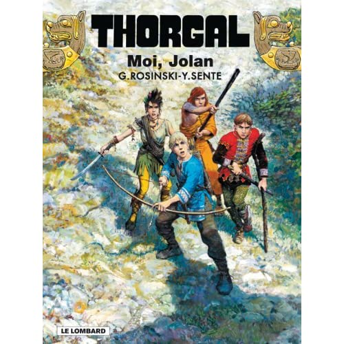 Grzegorz Rosinski et Yves Sente - Moi Jolan - Thorgal T30 61T2jrNerUL._SS500_