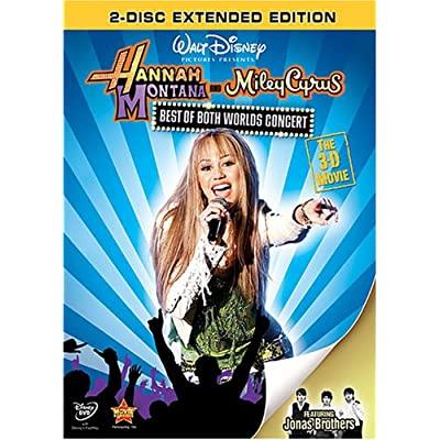 Hannah Montana et Miley Cyrus : Le Concert Événement en 3-D - En DVD et Blu-Ray (Sortie US 19 août 2008) 61ZdAnBlAtL._SS400_