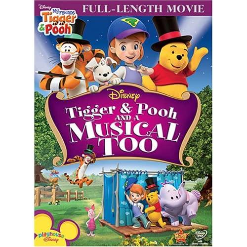[Disney Vidéo Première] Tigrou & Winnie : La Comédie Musicale 61rpLqEVbhL._SS500_