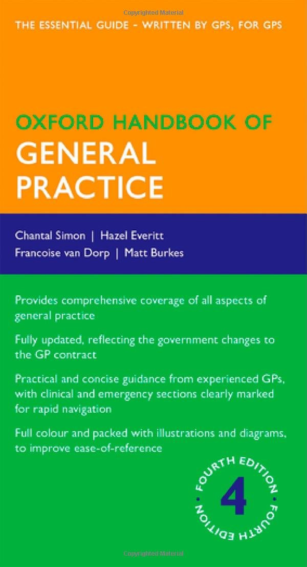 Oxford Handbook of General Practice  61u0xro9vgL