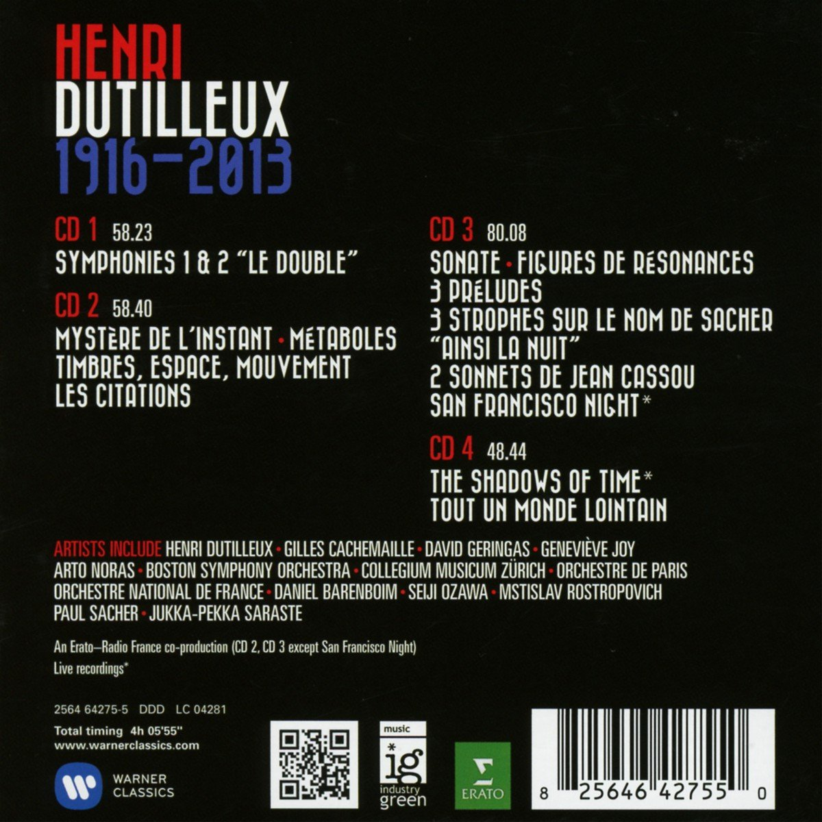 Dutilleux-Oeuvres orchestrales - Page 2 71FLr3Xi4bL._SL1200_