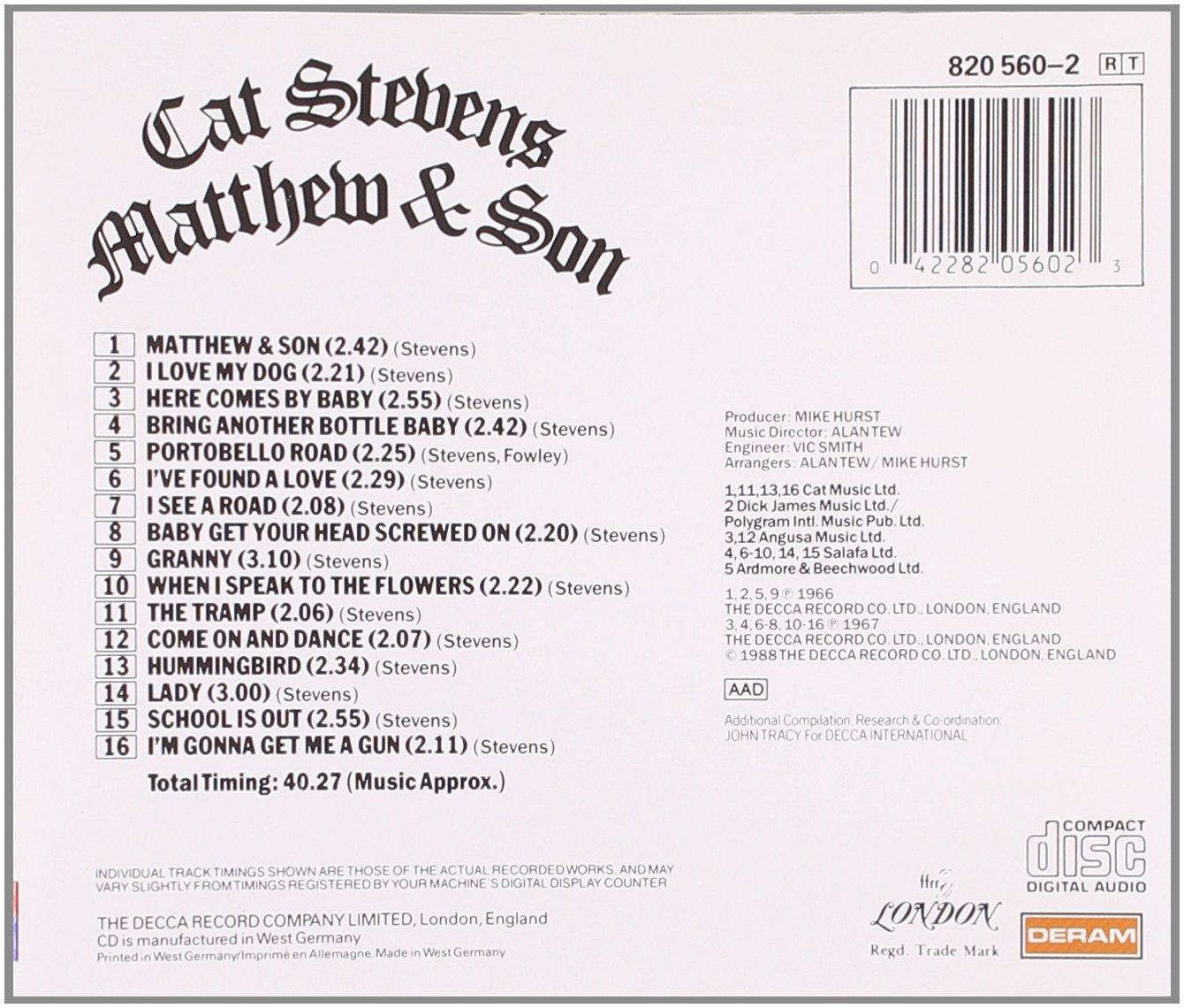 Cat Stevens 71HtMvums4L._SL1340_