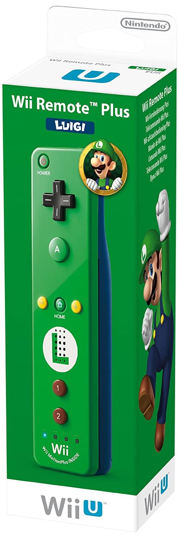 Télécommandes Wii U Plus 'Luigi' - verte et 'Mario' - rouge 71X1Nx2m9LL._SL1500_