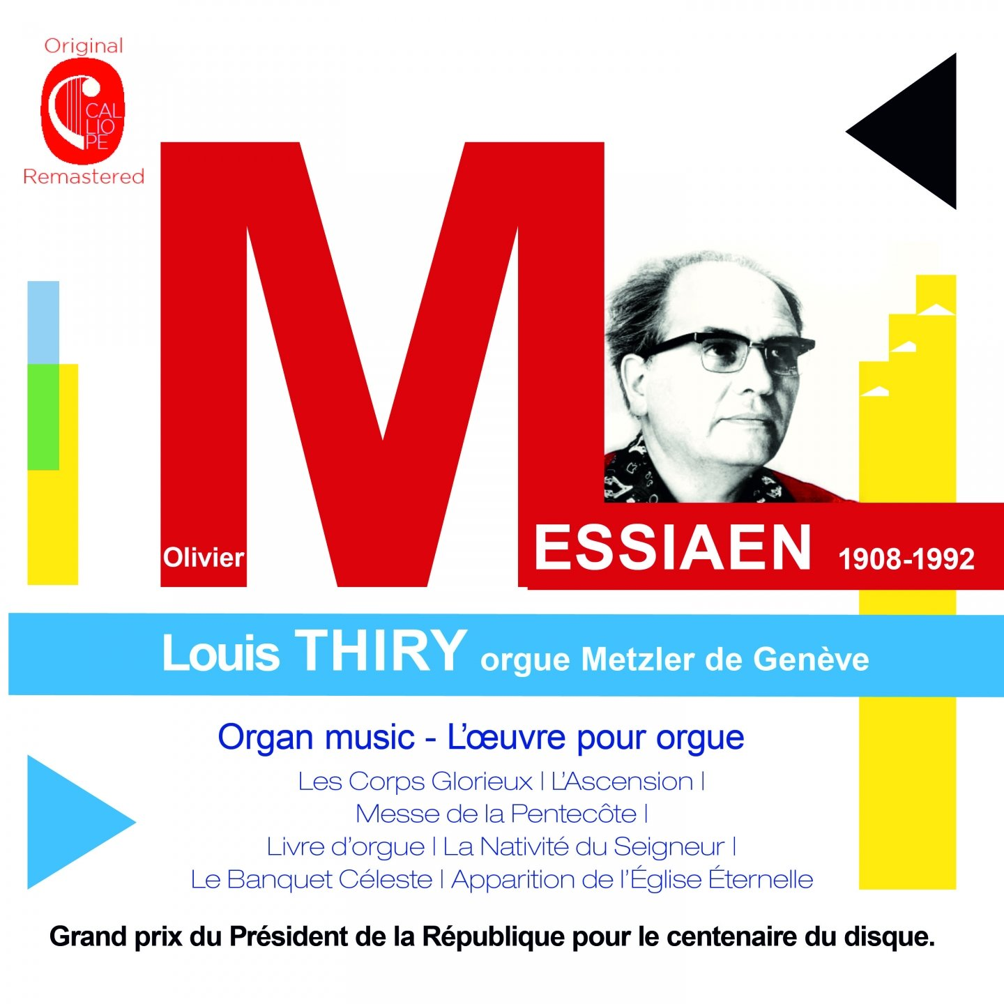 Messiaen : Oeuvres pour orgue - Page 2 71fczySCPYL._SL1440_