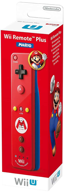 Télécommandes Wii U Plus 'Luigi' - verte et 'Mario' - rouge 71y9vZEL%2BeL._SL1500_