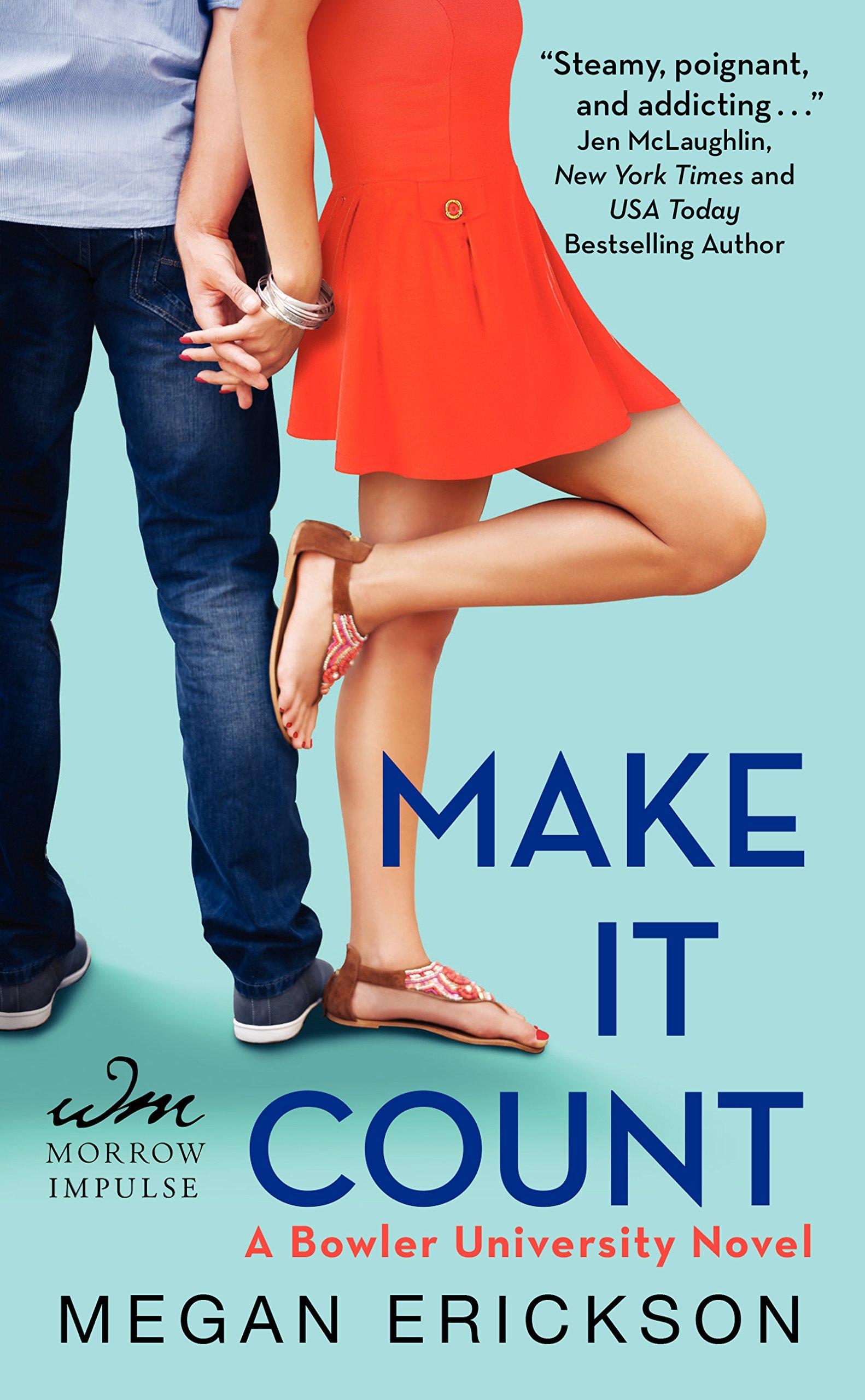 ERICKSON Megan - BROWLER UNIVERSITY tome 1 : Make it count 81%2BOGsElJ4L