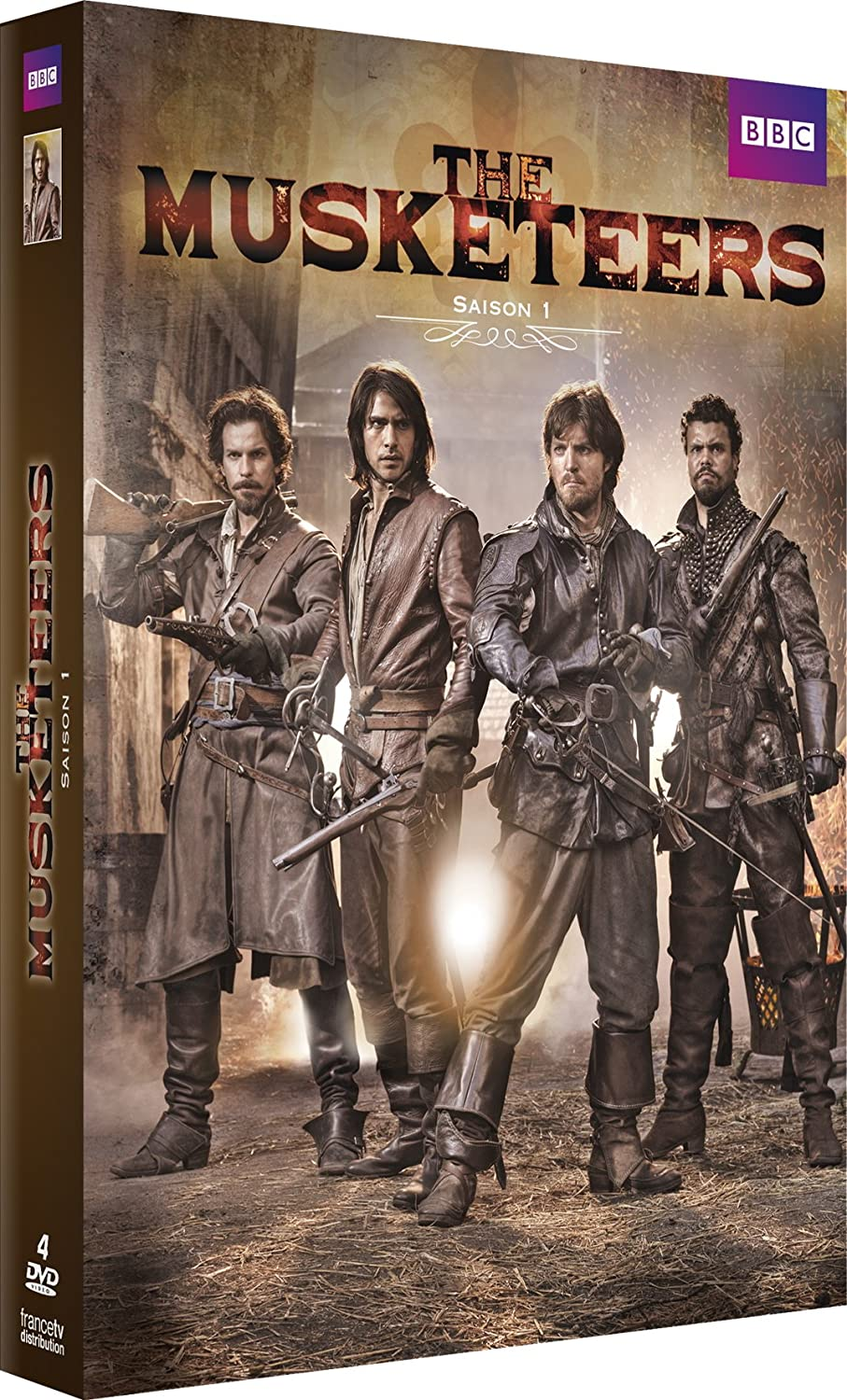 The Musketeers BBC saison 1 - Page 2 81KmyzMO25L._SL1500_