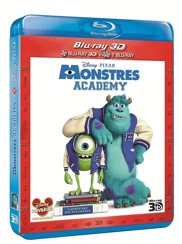 [BD + DVD] Monstres Academy (20 novembre 2013) 81M5Q-InjoL._SL1500_